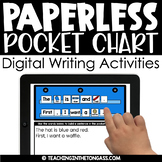 Paperless Writing Activities | Powerpoint or Google Classroom Activities