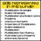 Paperless Third Grade Math Skill Checks: Multiplication, Division, Patterns