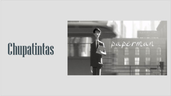 Paperman (Chupatintas) - MovieTalk with Future Tense/Making Predictions