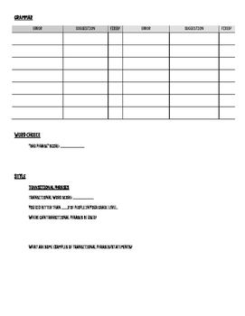 Paperrater.com Student Handout