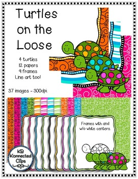 Papers, Frames and Turtles - Turtles on the Loose
