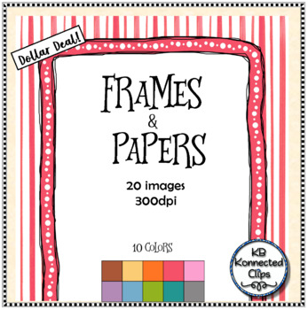 Papers and Frames Dollar Deal!