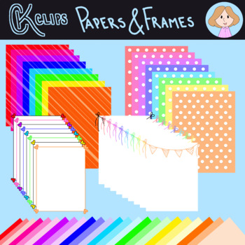 Papers and Frames by CK Clips