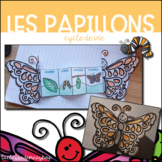Papillon - Cycle de vie - FRENCH Butterfly life cycle