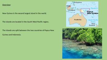 Papua New Guinea - Power Point history facts information pictures