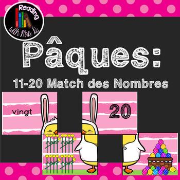 Paques: 11-20 Match des Nombres