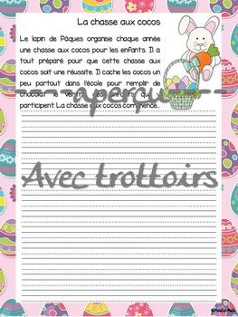 Pâques - 5 amorces d'écriture