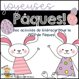 Paques: An Easter-Themed Mini Literacy Unit