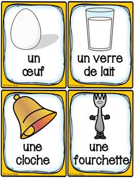 Pâques - Cartes de vocabulaire - French Easter