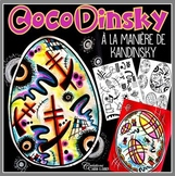 Pâques: CocoDinsky - projet d'arts plastiques