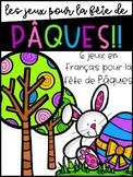 Pâques - Des jeux pour la fête de Pâques