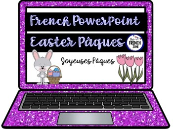Paques Easter French PowerPoint and Games