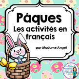Pâques (Paques):  Easter Themed Literacy Activities in French