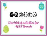 Paques - Easter booklet of activities in French