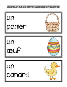 Pâques ( Easter in French)
