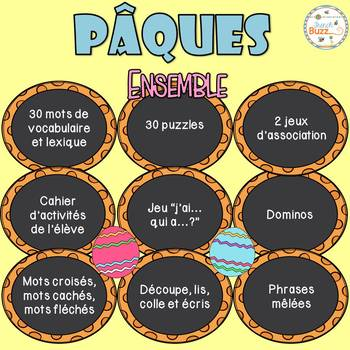 Pâques - Ensemble - French Easter Bundle