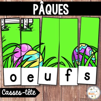 Pâques - French Easter - 20 puzzles