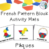 Pâques:  French Easter Pattern Block Pictures