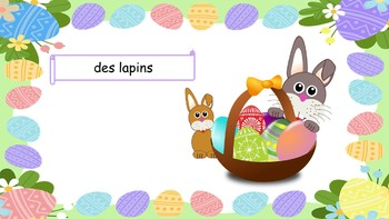 Pâques: French Easter PowerPoint Presentation (2nd to 6th)
