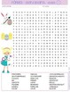 French Easter Pâques Word Search (wordsearch) Activity