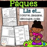 Pâques - Lis et... - Activités de littératie - French Easter