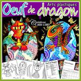 Pâques: Oeuf de dragon: Arts plastiques