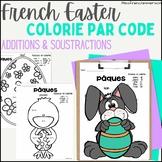 Pâques - Résous et Colorie ~ Easter - Colour by Code