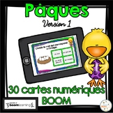 Pâques - Vocabulaire #1 - French Easter - BOOM cards