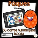 Pâques - Vocabulaire #2 - French Easter - BOOM cards