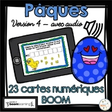 Pâques - Vocabulaire #4 - Avec audio - French Easter - BOOM cards