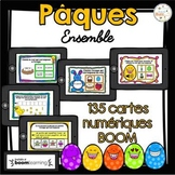 Pâques - Vocabulaire Ensemble - French Easter - BOOM cards - Bundle
