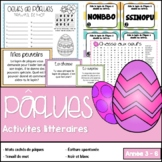 Pâques - Activités littéraire