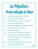 Pâques -prépostions -écriture  -centre; Easter French -wri