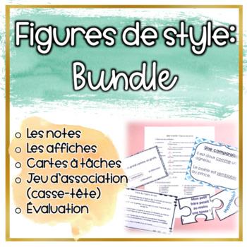 Figures De Style Teaching Resources | Teachers Pay Teachers