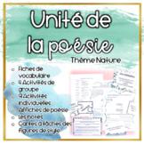 Paquet: Les activités et exercises de la poésie (nature) (