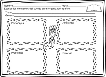 Paquete de Comprension de Lectura Reading Comprehension Spanish