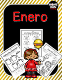 Paquete de matemáticas y lectura para enero;Jan. Math and Literacy in Spanish