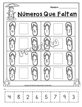 Paquete de matematicas y lectura para mayo (Spanish May Math and Lit. Packet)