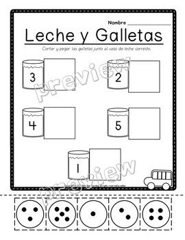 Back to school in Spanish; September packet in Spanish