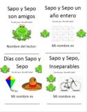 Sapo y Sepo - Paquetes de vocab y comprensión para los 4 l