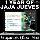 Para Empezar: 1 year of Jaja jueves - bell ringer or brain