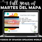 Para Empezar: 1 year of martes del mapa - bell ringer / brain break