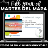 Para Empezar: 1 year of martes del mapa - bell ringer / brain break