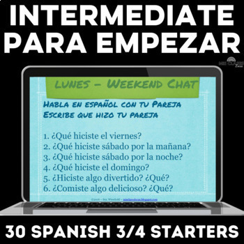 Para Empezar: 6 Weeks of Intermediate Spanish