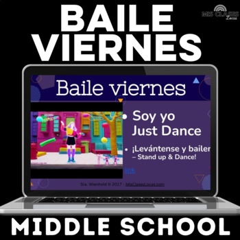 Para Empezar: Baile viernes - middle school - for a year!