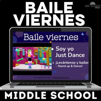 Para Empezar: Baile viernes - middle school - for a year!