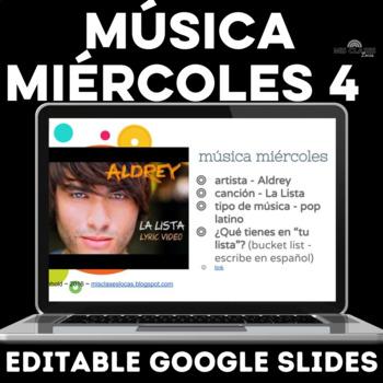 Para Empezar: Música miércoles 4 - with embedded videos!