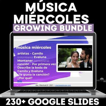 Para Empezar: Música miércoles GROWING BUNDLE!