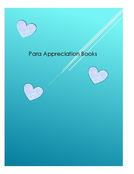 Para-Professional Appreciation Books