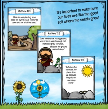 Parable Of The Sower Scripture Cards